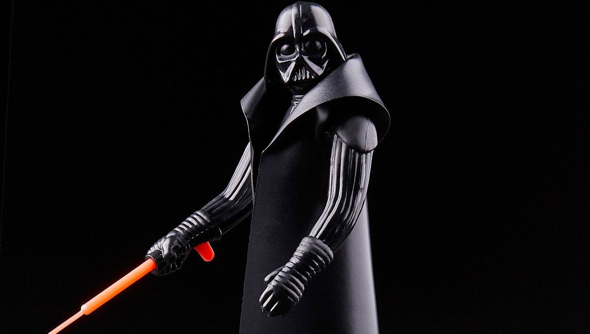 Kenner Darth Vader action figure reissued by Hasbro