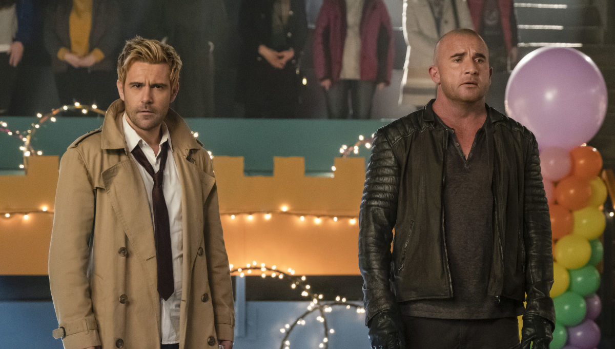 DC's Legends of Tomorrow Constantine and Mick