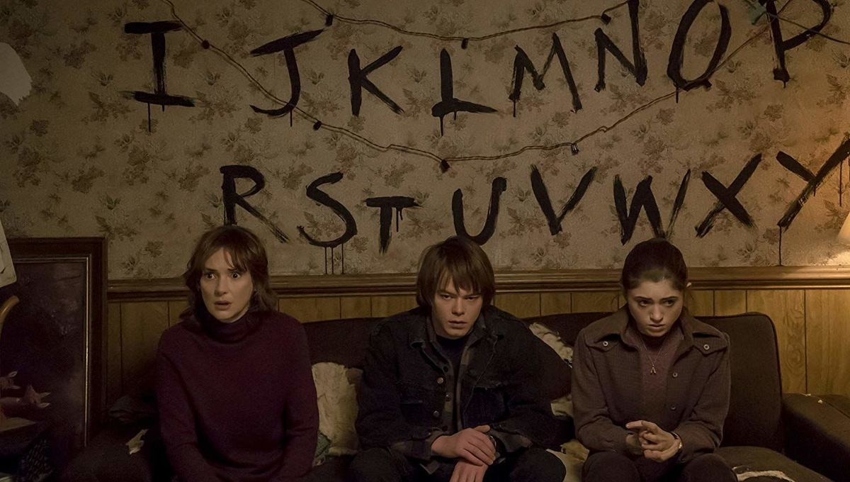 Stranger Things living room imdb