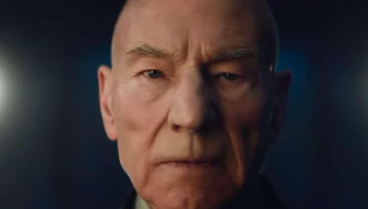 Picard face CBS star trek patrick steweart trailer