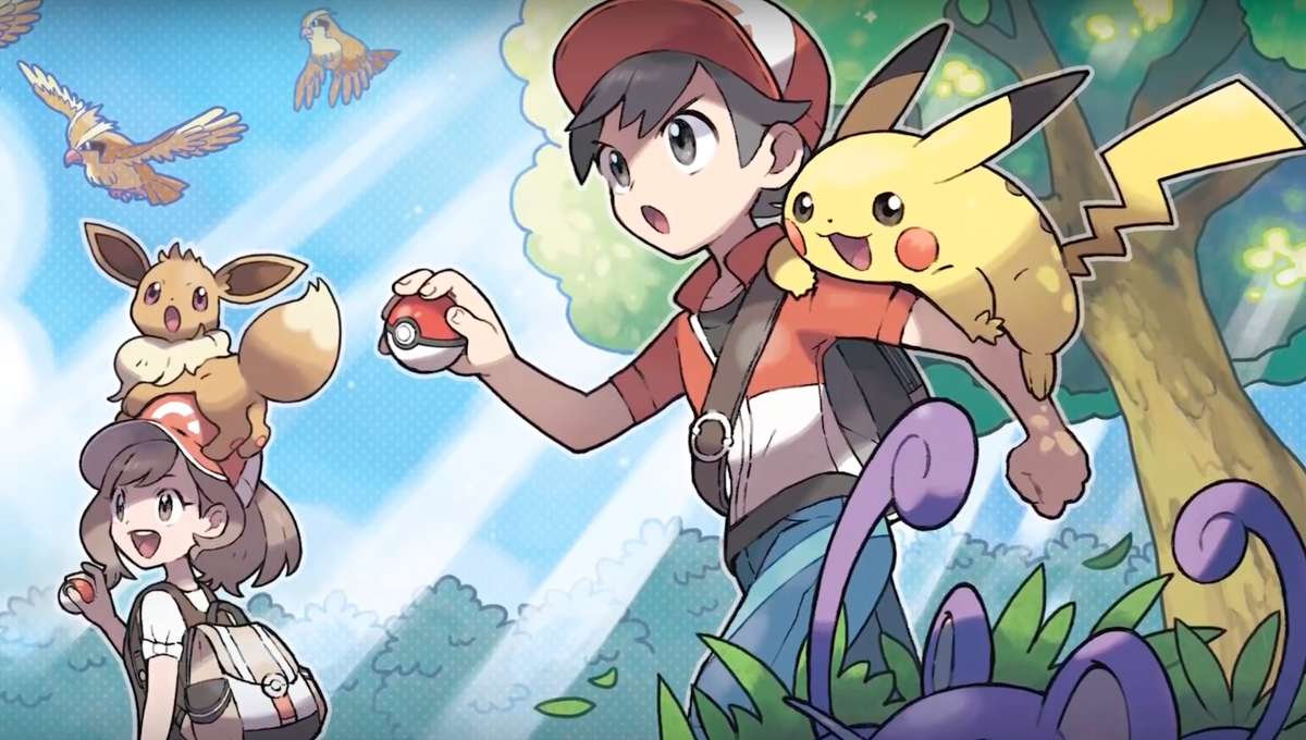 Ash and Pikachu in Pokemon Super Music Collection video