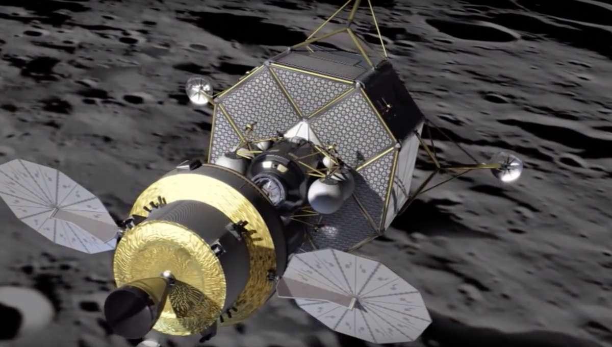 NASA image of asteroid mining