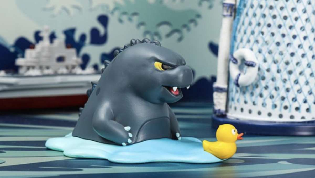 Chubby Godzilla