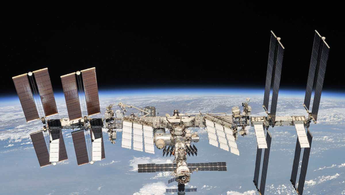 NASA image of the ISS