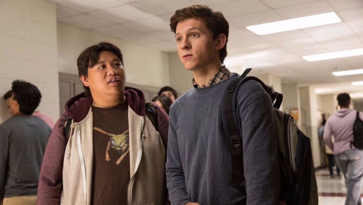 Spider-Man Peter Parker and Ned