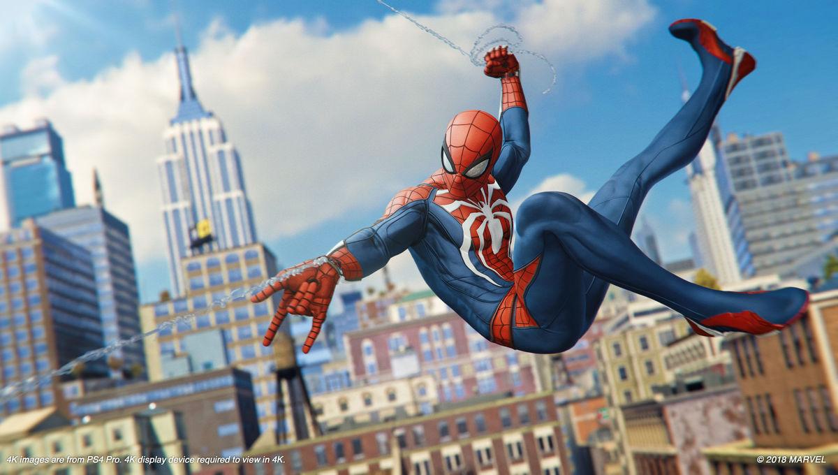 Spider Man on PlayStation 4
