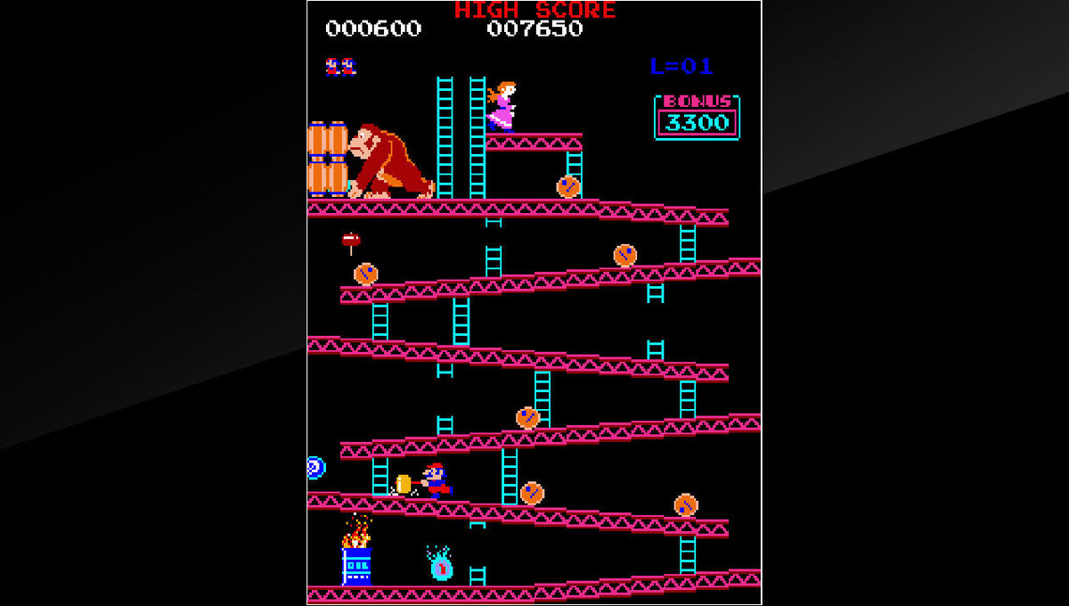 Donkey Kong 1981 Nintendo
