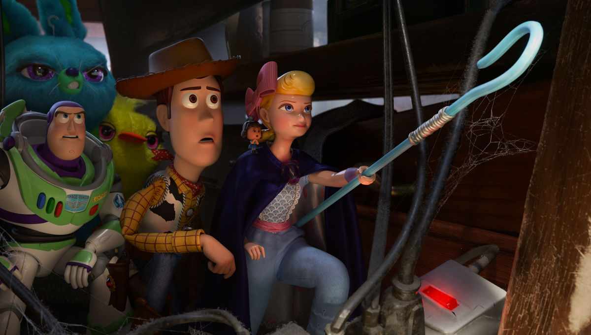 Toy Story 4: Bo Peep with Woody and Buzz Lightyear