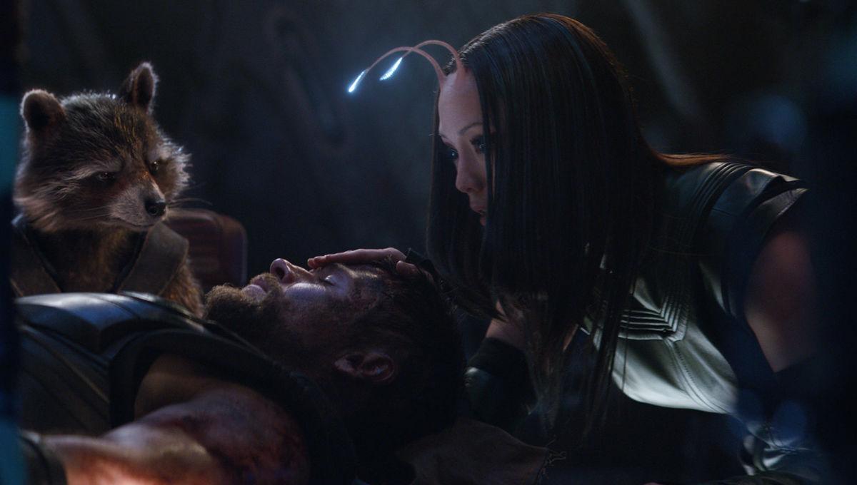 Rocket Mantis Thor Avengers Infinity War