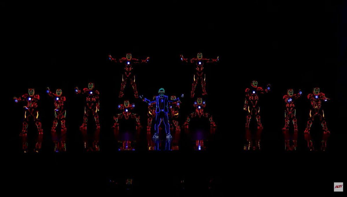 Americas Got Talent Iron Man Dance