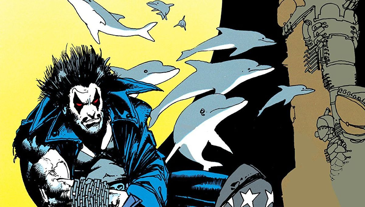Lobo in the comics