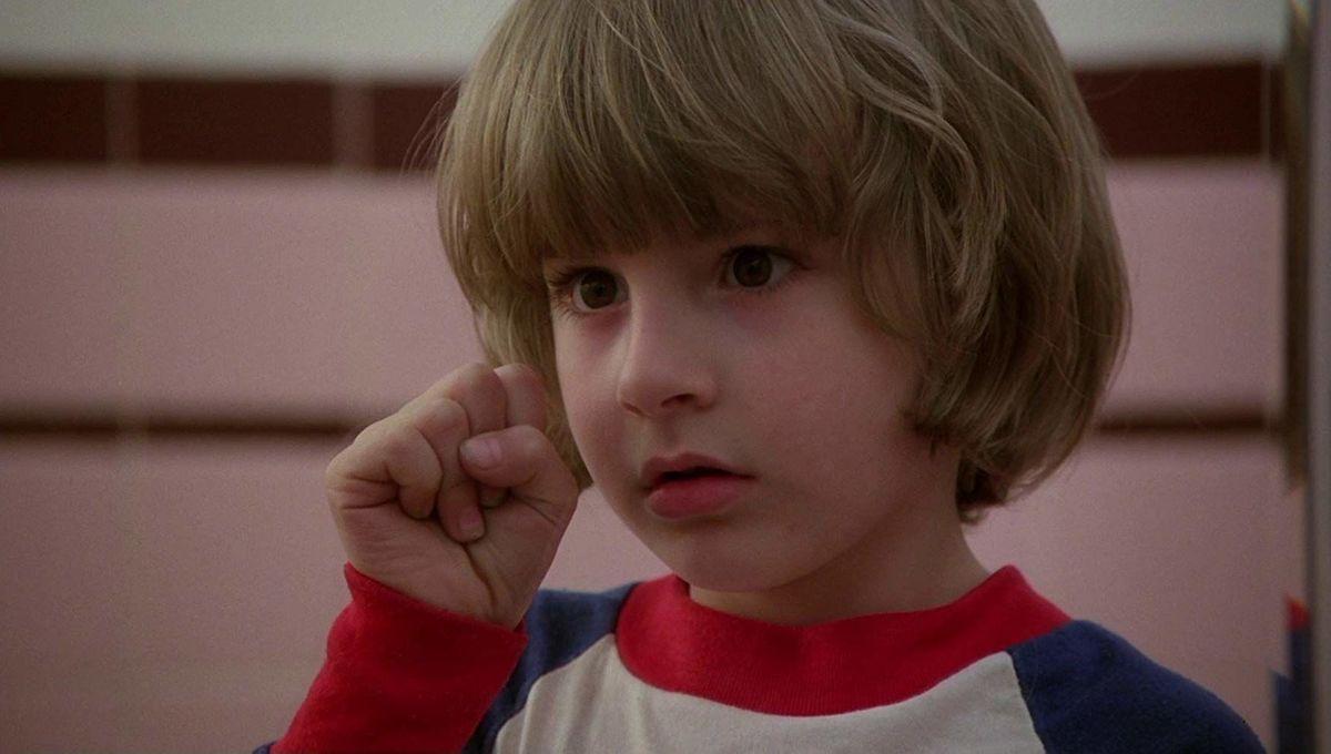 Danny Torrance ( Danny Lloyd) in The Shining