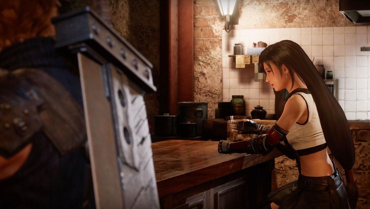 Tifa Lockhart in Final Fantasy VII Remake