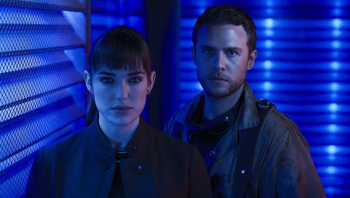 Fitz and Simmons in Marvel's Agents of SHIELD