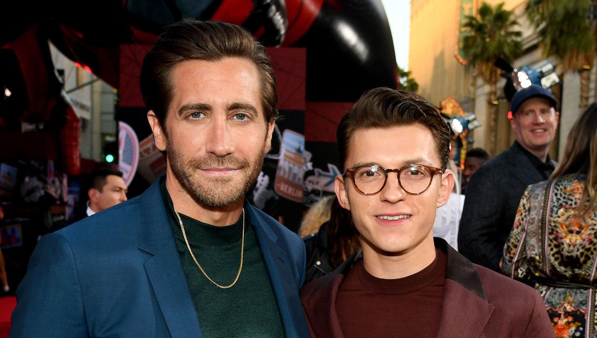 Jake Gyllenhaal Tom Holland Spider-Man: Far From Home Premiere