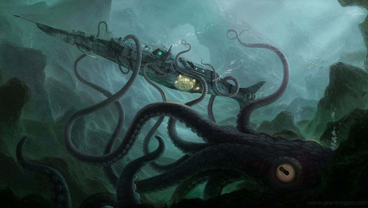 Grant Regan Giant Squid
