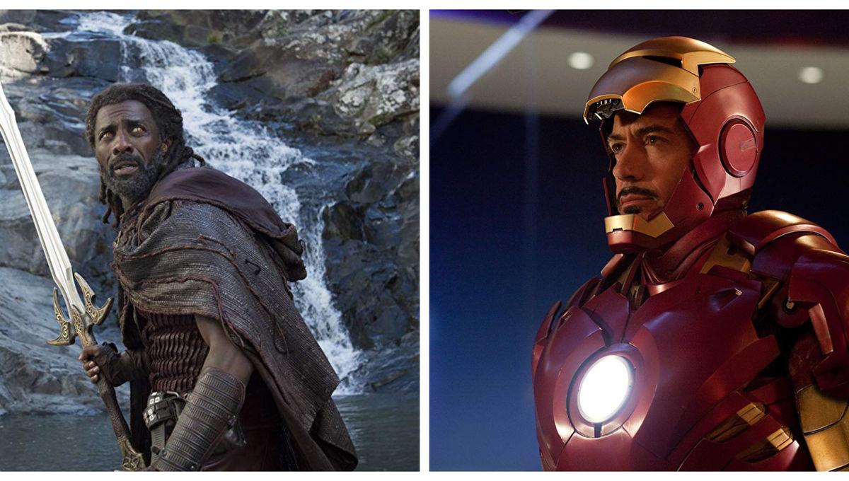 Heimdall & Iron Man