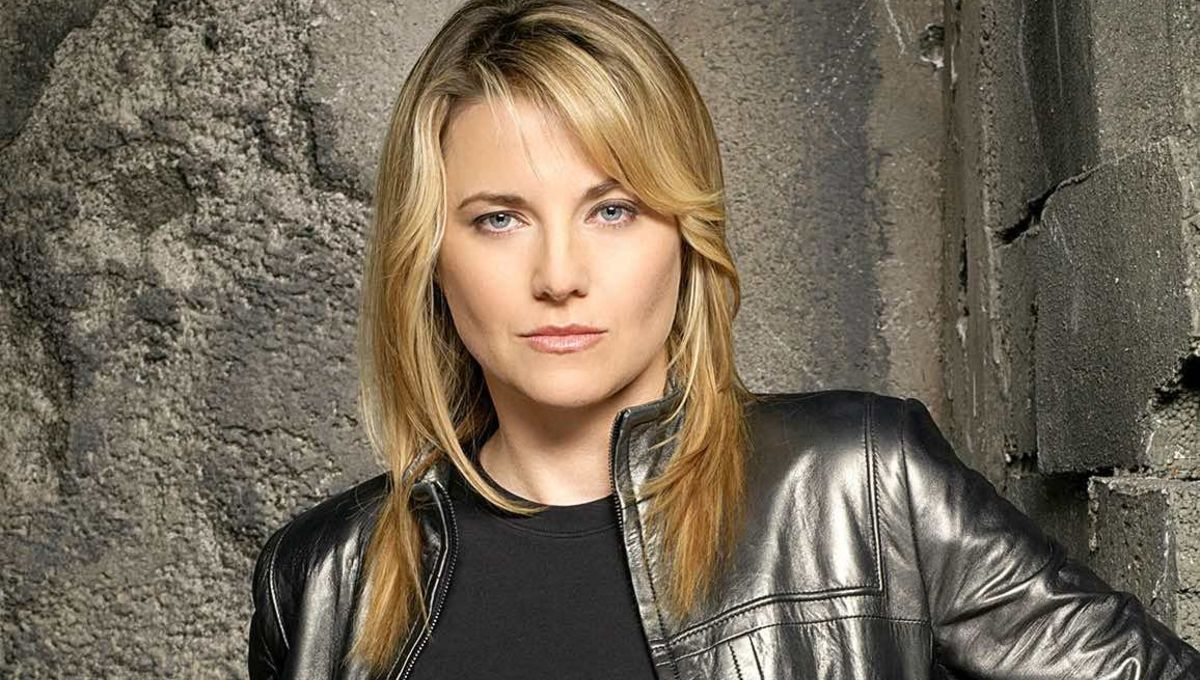 Lucy Lawless as Number Three in Battlestar Galactica