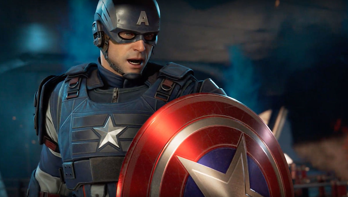 Captain America in Marvel Avengers video game