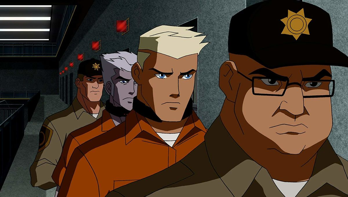 Icicle in Young Justice