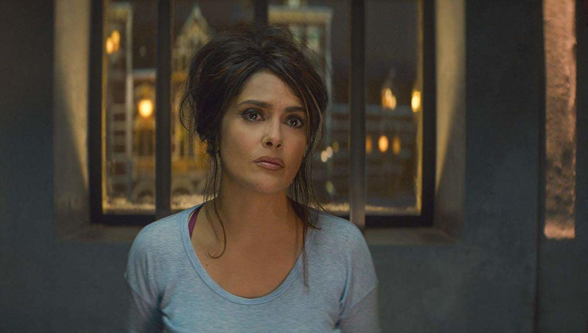 Salma Hayek in The Hitman's Bodyguard