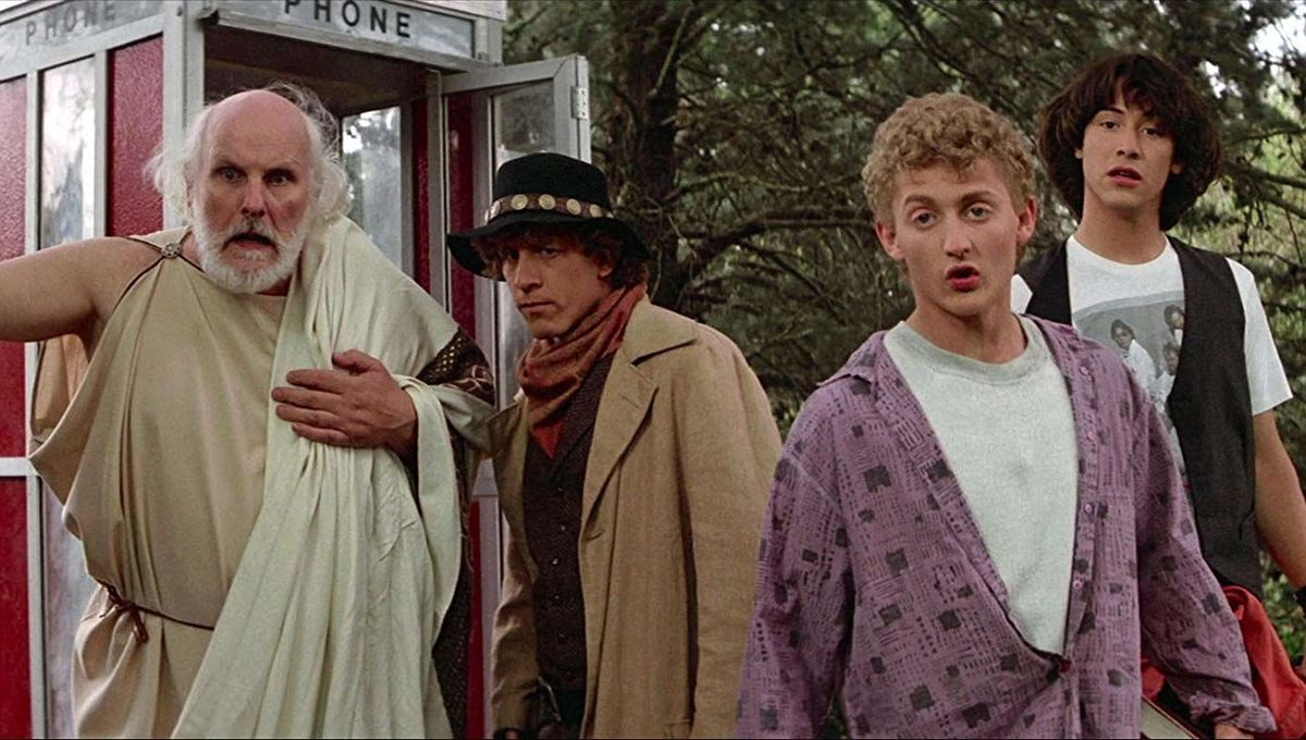 bill & ted phone booth