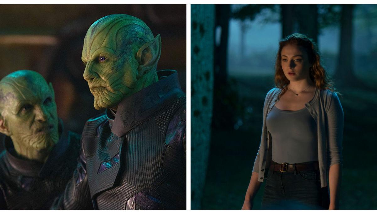 Skrulls and Jean Grey