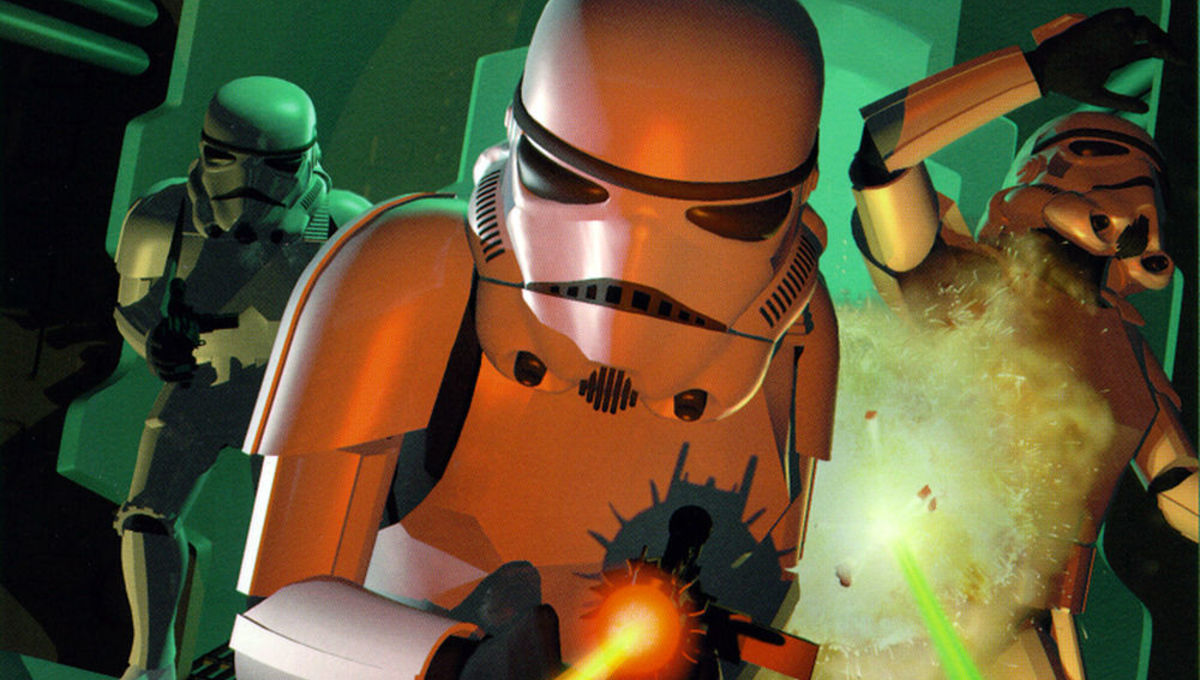 Star Wars Dark Forces LucasArts cover