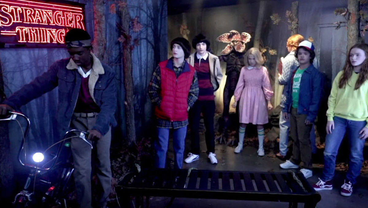 Stranger Things wax museum