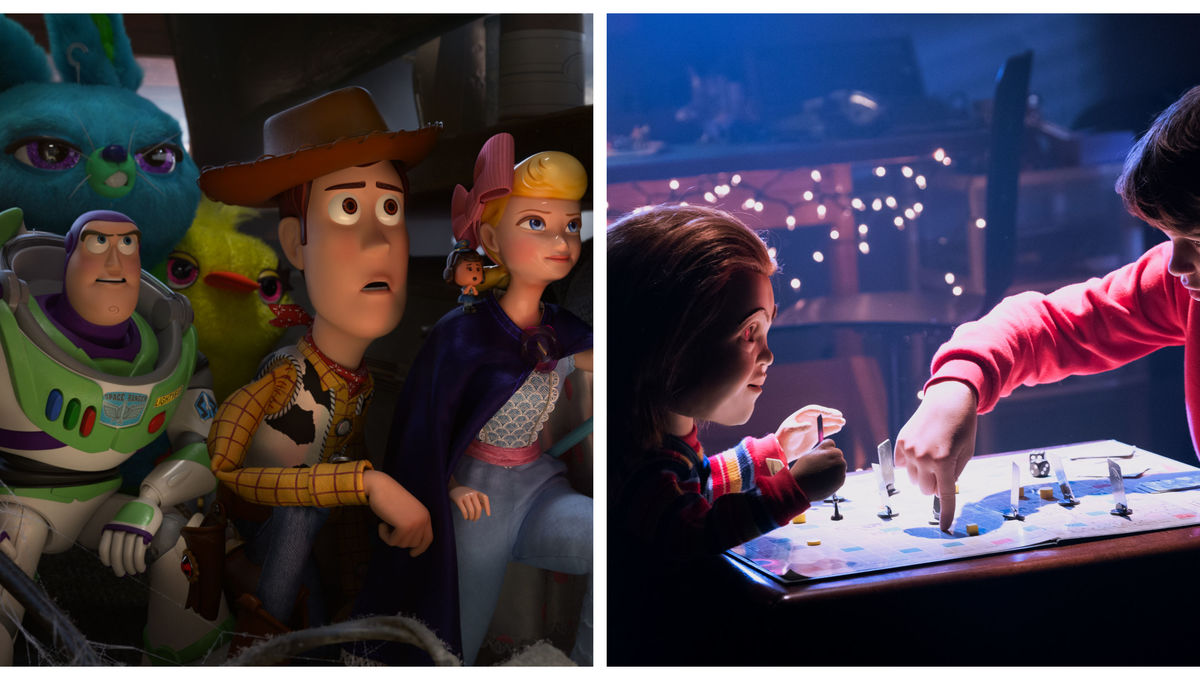 Toy Story 4 and Child's Play