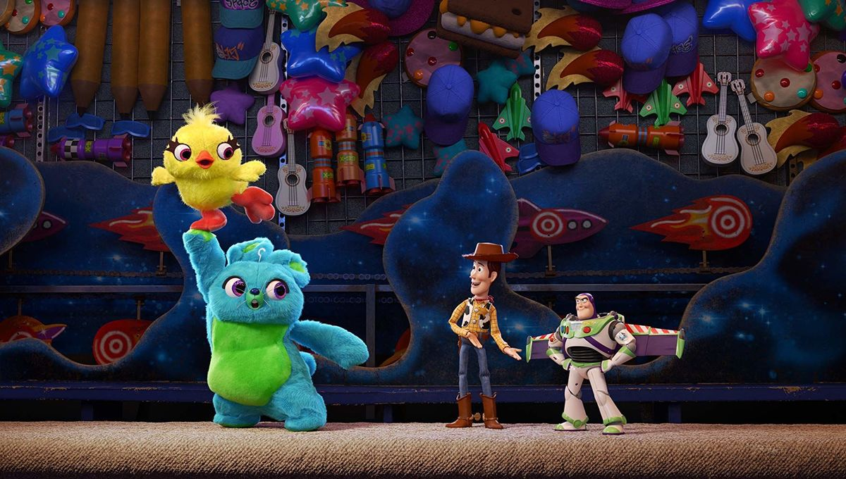 Toy Story 4 Woody Buzz Ducky and Bunny