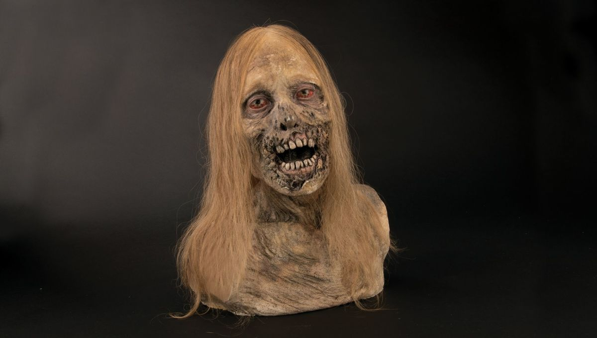 Walking Dead Bust Frank Darabont Auction
