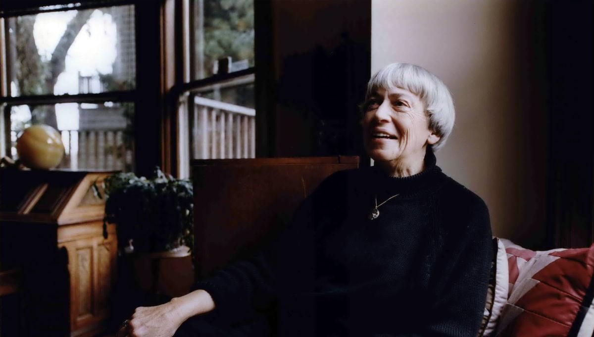 Author Ursula K Le Guin