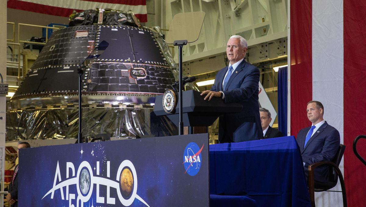 NASA Orion reveal