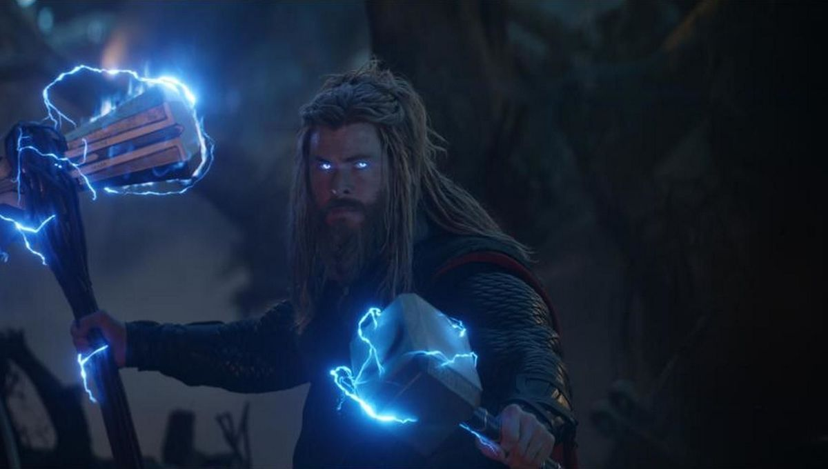 Chris Hemsworth as Thor in Avengers Endgame