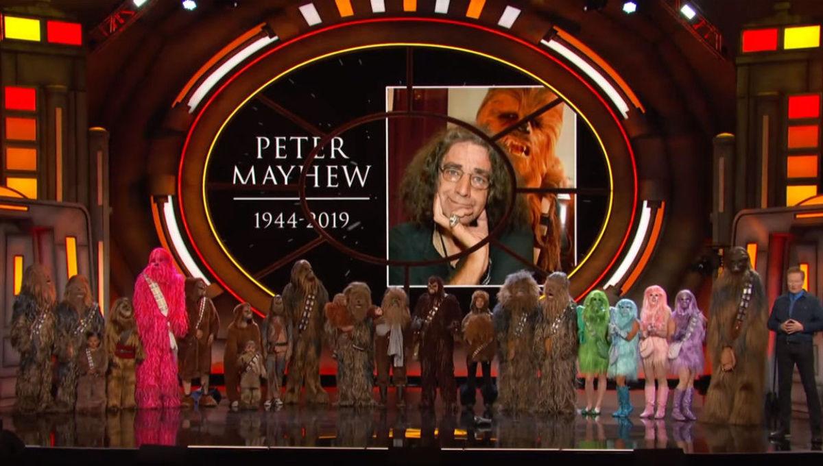 Conan Peter Mayhew tribute