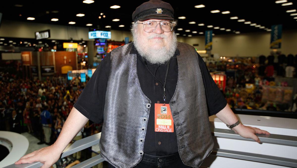 George R. R. Martin Comic-Con