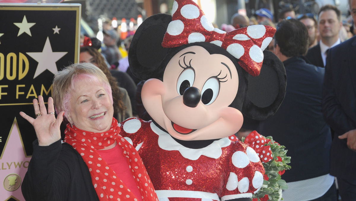 Russi Taylor Minnie Mouse Disney