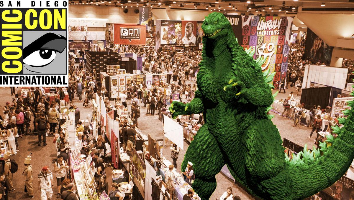Godzilla Comic Con SDCC