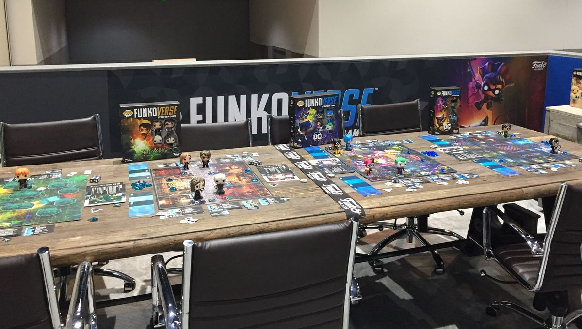 Funkoverse games SDCC 2019