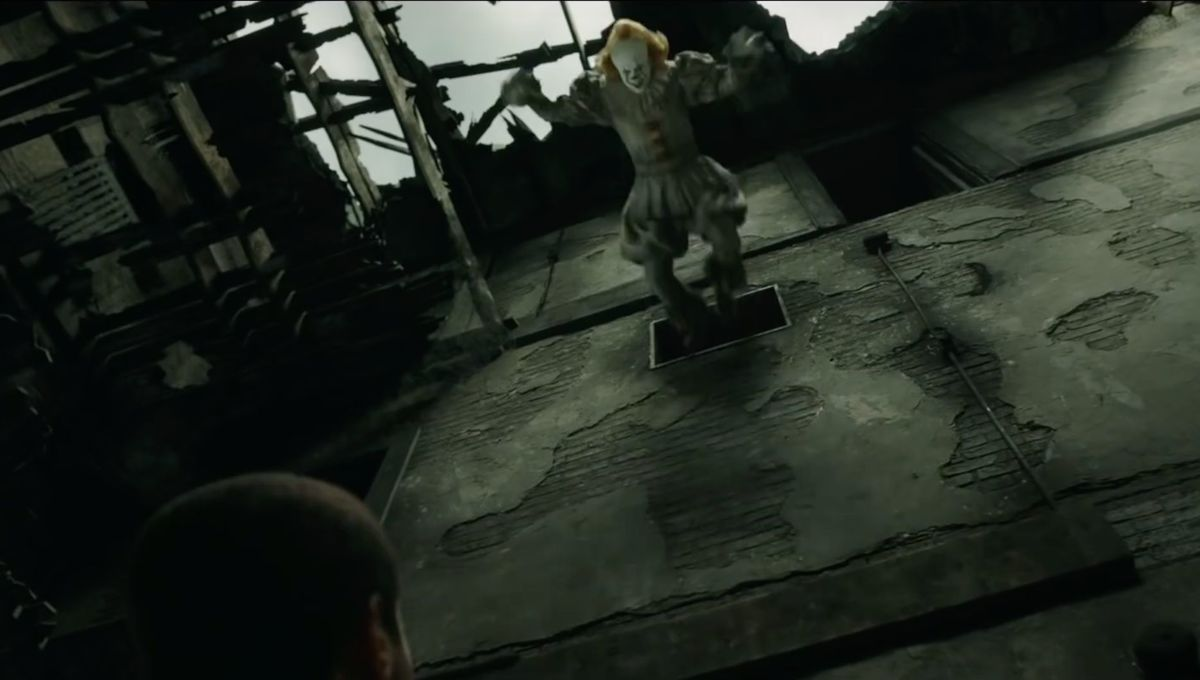 Pennywise jump (It: Chapter Two)