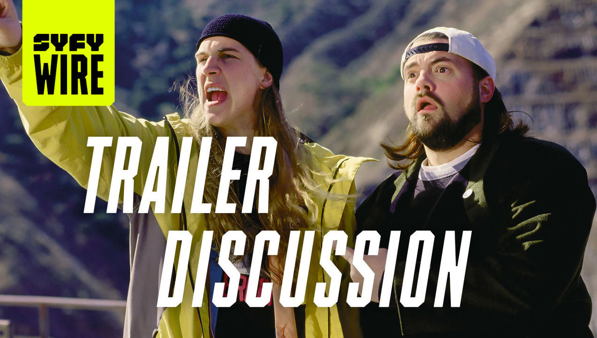 Jay and Silent Bob trailer discussion