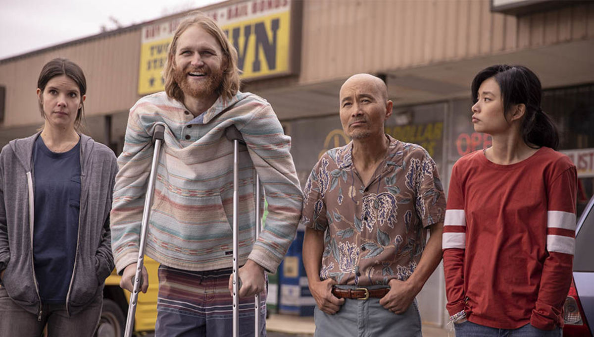 The cast of Lodge 49 on AMC