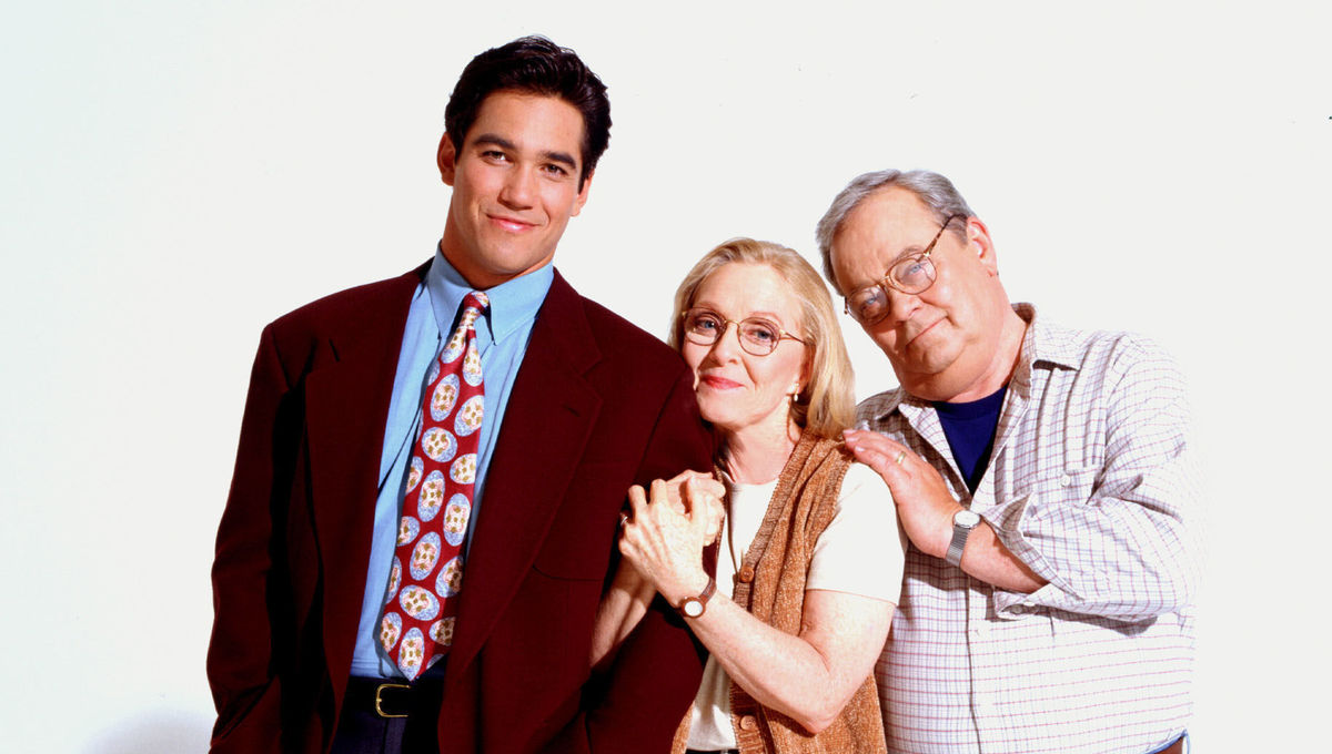 The cast of Lois and Clark on ABC