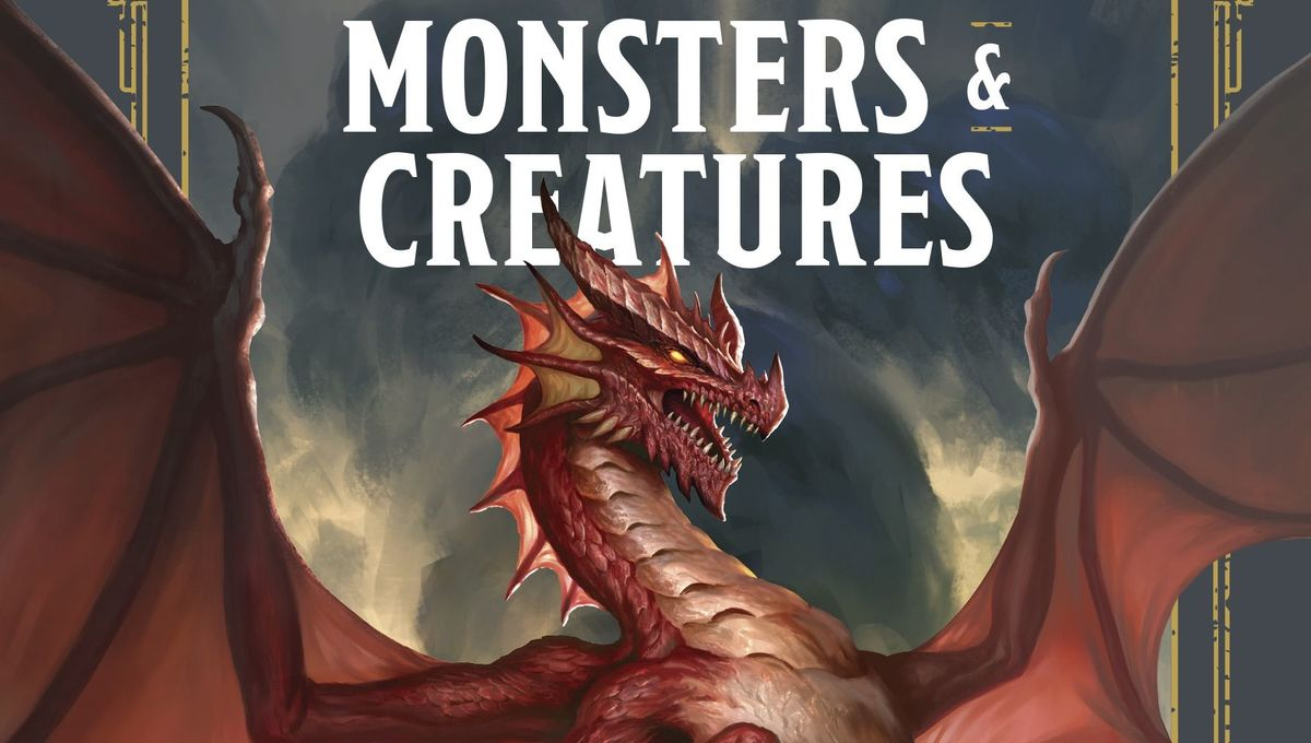 D&D Monsters & Creatures guide front cover