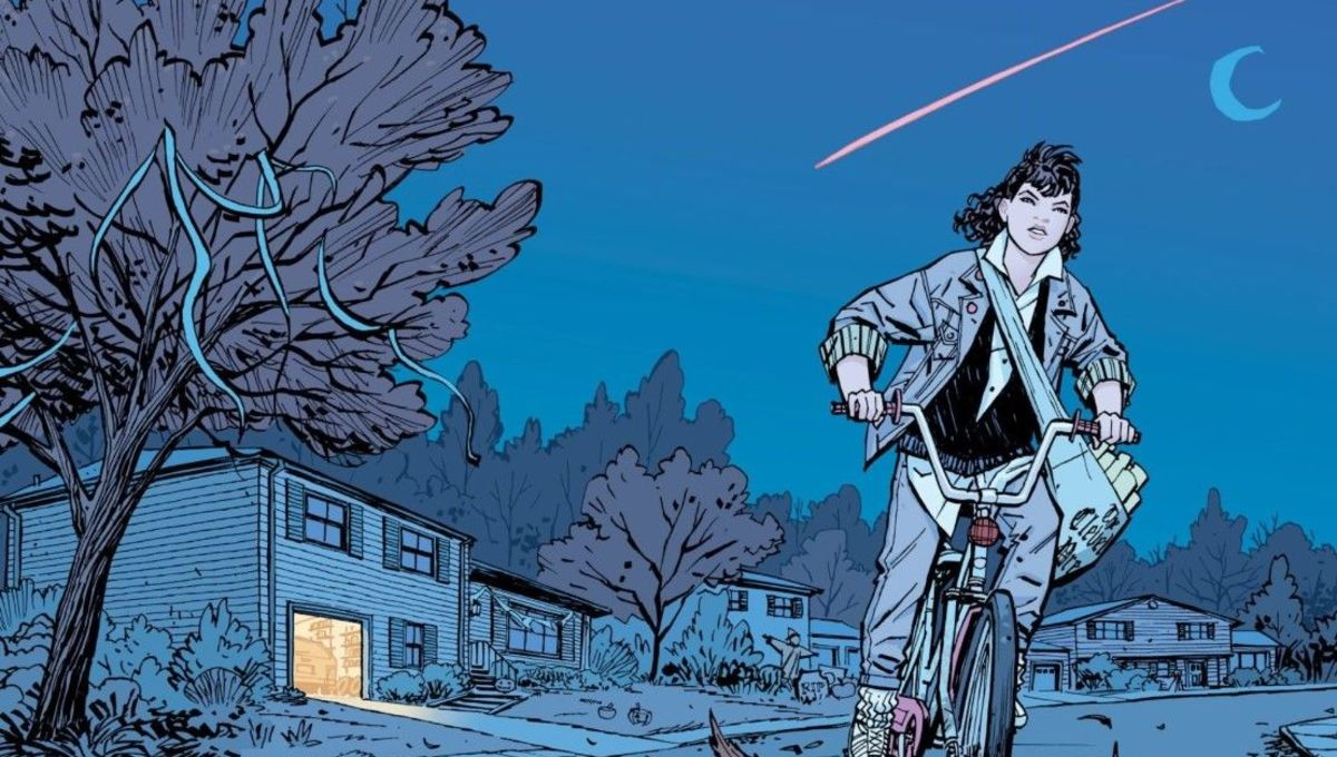 Paper Girls #1 Image Comics by Cliff Chiang