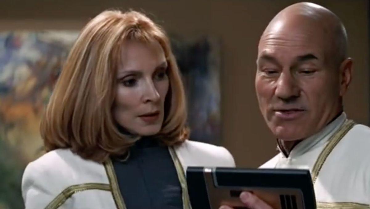 Jean-Luc and Beverly (Star Trek: Insurrection)
