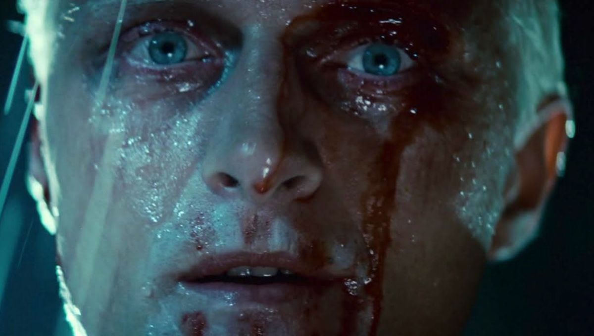 Rutger Hauer as Roy Batty in Blade Runner