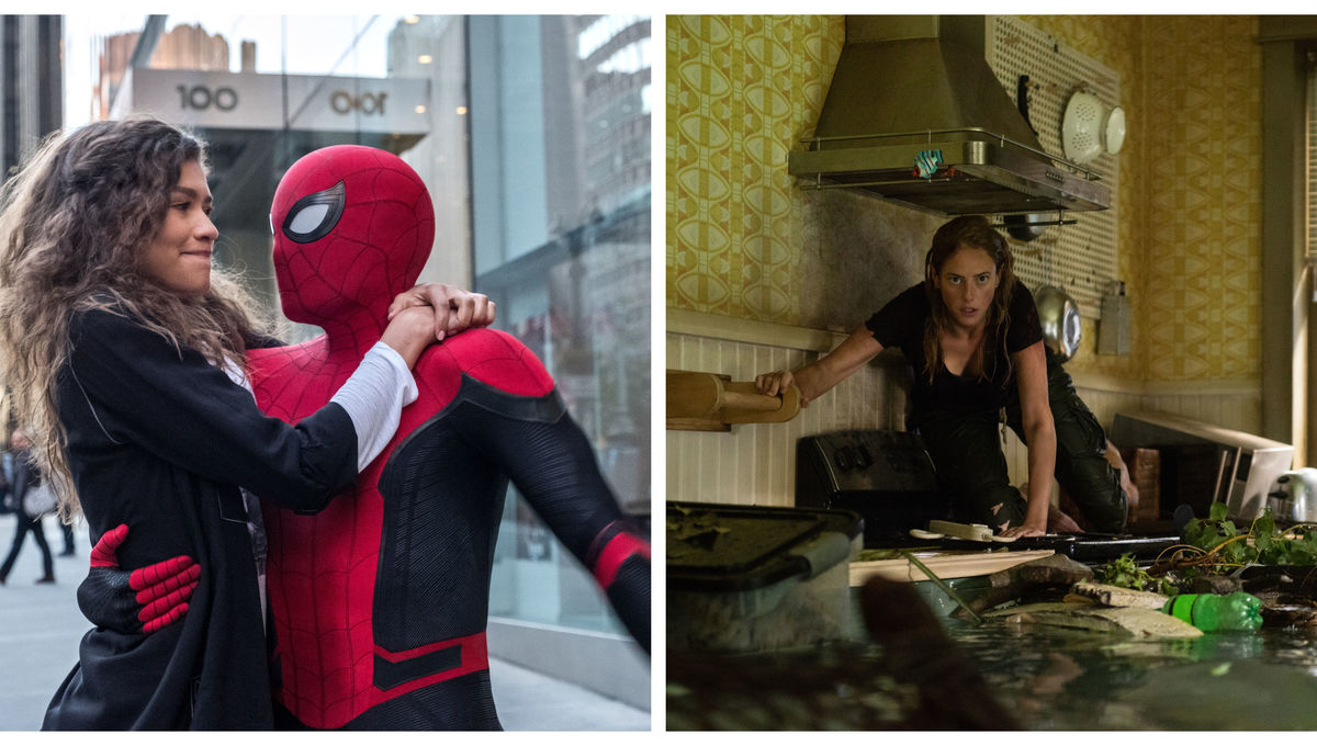 Spider-Man Far From Home and Crawl