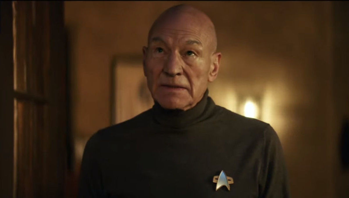 Star Trek Picard SDCC trailer